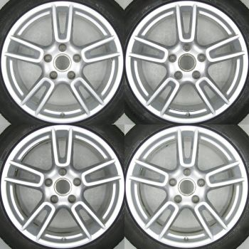 971601025 / F Porsche Panamera 971 G2 5 Twin Spoke Set 9 / 10.5 x 19