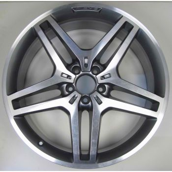 AMG Mercedes 166 ML GL 5 Twin Spoke Wheel