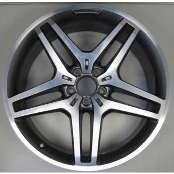 AMG Mercedes 166 ML GL 5 Twin Spoke Z8345 Wheel