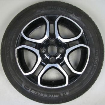 4534018500 Smart 453 Fortwo 5 Twin Spoke Alloy and Tyre 5 x 15