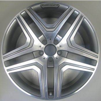 1664011400 Mercedes 5 Twin Spoke Wheel 10 x 21