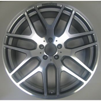 1664012800 AMG Mercedes 166 ML GL 7 Twin Spoke Wheel 10 x 21