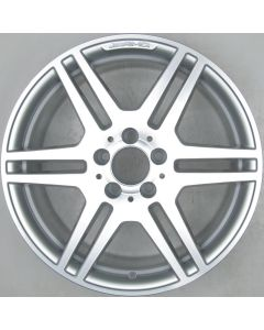 "2124012302 AMG Mercedes 212 E-Class 6 Twin Spoke Wheel 8.5 x 18"" ET48 X1212"