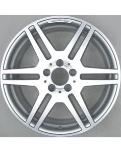 "2124012302 AMG Mercedes 212 E-Class 6 Twin Spoke Wheel 8.5 x 18"" ET48 X1213"
