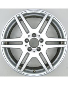 "2124012302 AMG Mercedes 212 E-Class 6 Twin Spoke Wheel 8.5 x 18"" ET48 X1268"