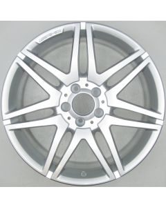 "2124014502 AMG Mercedes 212 E-Class 7 Twin Spoke Wheel 8.5 x 19"" ET48 X1365"