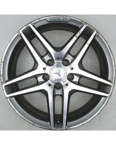 "2124010300 AMG Mercedes IV 212 E-Class 5 Twin Spoke Wheel 8.5 x 18"" ET48 X1415"