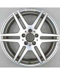 "2124012302 AMG Mercedes 212 E-Class 6 Twin Spoke Wheel 8.5 x 18"" ET48 X1416"