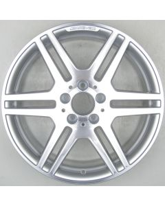"2124012302 AMG Mercedes 212 E-Class 6 Twin Spoke Wheel 8.5 x 18"" ET48 X1512"