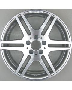 "2124012302 AMG Mercedes 212 E-Class 6 Twin Spoke Wheel 8.5 x 18"" ET48 X1520"