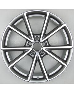 "8W0601025BD RS Audi 8W A4 S4 RS4 5 Twin Spoke Wheel 8.5 x 19"" ET40 X1790"