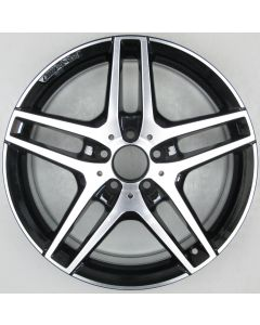 "2124010300 AMG Mercedes IV 212 E-Class 5 Twin Spoke Wheel 8.5 x 18"" ET48 X1805"