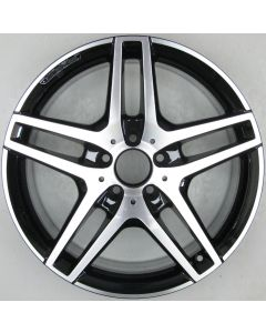 "2124010300 AMG Mercedes IV 212 E-Class 5 Twin Spoke Wheel 8.5 x 18"" ET48 X1806"