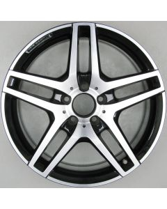 "2124010300 AMG Mercedes IV 212 E-Class 5 Twin Spoke Wheel 8.5 x 18"" ET48 X1939"