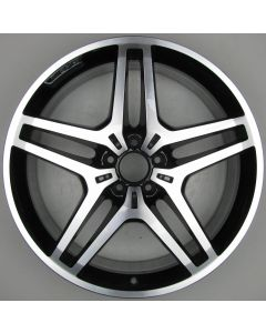 "1664012102 AMG Mercedes 166 ML GL Twin 5 Spoke Wheel 9 x 21"" ET53 X198"