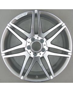 "2124014602 AMG Mercedes 212 E-Class 7 Twin Spoke Wheel 9.5 x 19"" ET48 X2033"