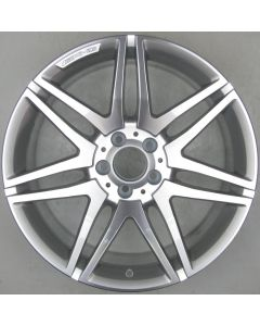 "2124014602 AMG Mercedes 212 E-Class 7 Twin Spoke Wheel 9.5 x 19"" ET48 X2035"