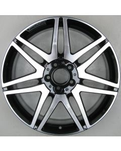"2124014502 AMG Mercedes 212 E-Class 7 Twin Spoke Wheel 8.5 x 19"" ET48 X2042"