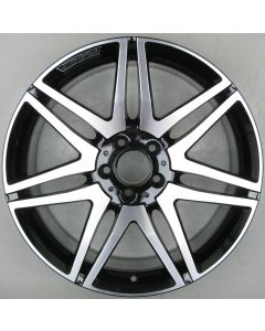 "2124014602 AMG Mercedes 212 E-Class 7 Twin Spoke Wheel 9.5 x 19"" ET48 X2052"