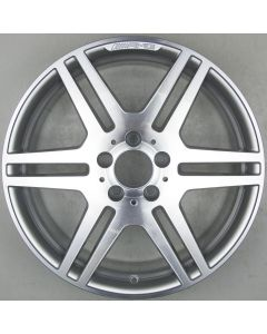 "2124012302 AMG Mercedes 212 E-Class 6 Twin Spoke Wheel 8.5 x 18"" ET48 X2055"