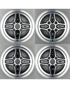 "H75AB-1007-FA Ford RS Style 4 Hole Set of 4 Wheels 6 x 13"" ET19 X2081 - 2084"