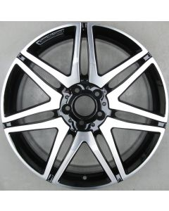 "2124014502 AMG Mercedes 212 E-Class 7 Twin Spoke Wheel 8.5 x 19"" ET48 X2301"