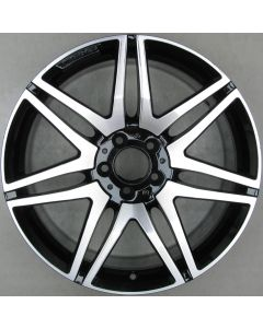 "2124014602 AMG Mercedes 212 E-Class 7 Twin Spoke Wheel 9.5 x 19"" ET48 X2335"