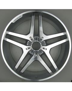 "1664012102 AMG Mercedes 166 ML GL Twin 5 Spoke Wheel 9 x 21"" ET53 X235"