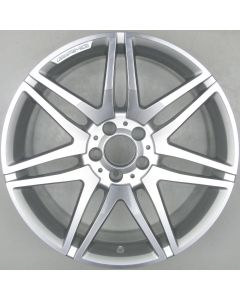 "2124014602 AMG Mercedes 212 E-Class 7 Twin Spoke Wheel 9.5 x 19"" ET48 X2516"