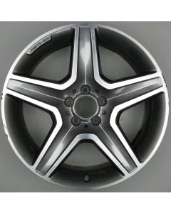 "1664012002 AMG Mercedes 166 ML GL 5 Spoke Wheel 9 x 20"" ET57 X319"
