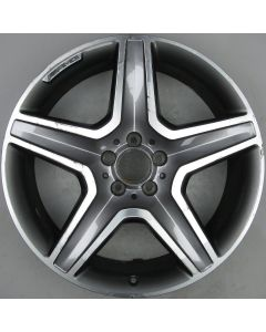 "1664012002 AMG Mercedes 166 ML GL 5 Spoke Wheel 9 x 20"" ET57 X417"