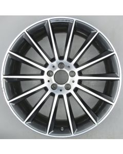 "1664013200 AMG Mercedes 166 ML GL 14 Spoke Wheel 10 x 21"" ET46 X463"