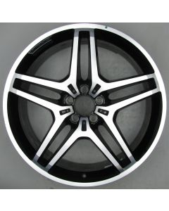 "1664013700 AMG Mercedes 166 ML GL 5 Twin Spoke Wheel 9 x 21"" ET53.5 X464"