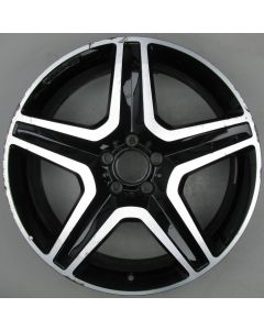 "1664012002 AMG Mercedes 166 ML GL 5 Spoke Wheel 9 x 20"" ET57 X466"