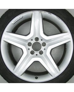 "1664012002 AMG Mercedes 166 ML GL 5 Spoke Wheel 9 x 20"" ET57 X594"