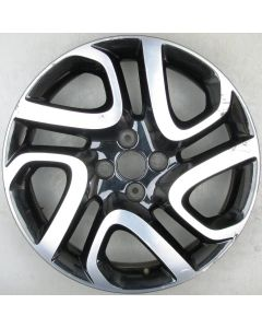 "403005302R Renault Captur Twin Spoke Alloy Wheel 6.5 x 17"" ET40 X666"