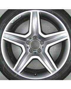 "1664012002 AMG Mercedes 166 ML GL 5 Spoke Wheel 9 x 20"" ET57 X670"