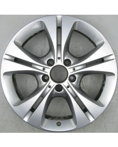 "2054014300 Mercedes 205 C-Class 5 Twin Spoke Wheel 7 x 17"" ET48.5 X770"
