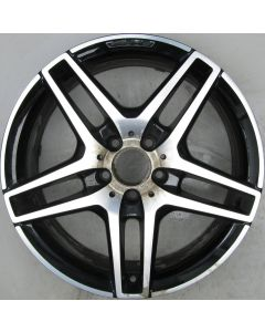 "2124010300 AMG Mercedes IV 212 E-Class 5 Twin Spoke Wheel 8.5 x 18"" ET48 X882"