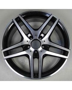 "2124010300 AMG Mercedes 212 E-Class 5 Twin Spoke Wheel 8.5 x 18"" ET48 Z8075"