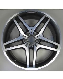 "1664013700 AMG Mercedes 166 ML GL 5 Twin Spoke Z8345 Wheel 9 x 21"" ET53 Z8345"