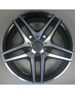 "2124010300 AMG Mercedes IV 212 E-Class 5 Twin Spoke Wheel 8.5 x 18"" ET48 Z9406"