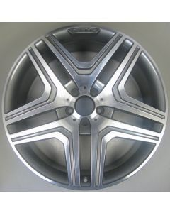 "1664011400 Mercedes 5 Twin Spoke Wheel 10 x 21"" ET46 Z9419"