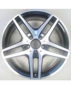 "2124010300 AMG Mercedes IV 212 E-Class 5 Twin Spoke Wheel 8.5 x 18"" ET48 Z9468"
