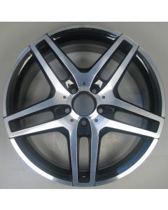 "2124010300 AMG Mercedes IV 212 E-Class 5 Twin Spoke Wheel 8.5 x 18"" ET48 Z9470"
