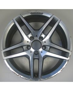 "2124010300 AMG Mercedes IV 212 E-Class 5 Twin Spoke Wheel 8.5 x 18"" ET48 Z9482"