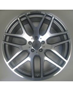 "1664012800 AMG Mercedes 166 ML GL 7 Twin Spoke Wheel 10 x 21"" ET46 Z9489"