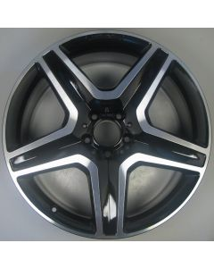"1664012002 AMG Mercedes 166 ML GL 5 Spoke Wheel 9 x 20"" ET57 Z9679"