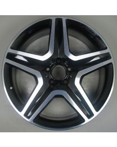 "1664012002 AMG Mercedes 166 ML GL 5 Spoke Wheel 9 x 20"" ET57 Z9772"