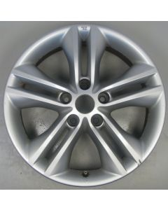 "40300BR07A Nissan Qashqai J10 5 Twin Spoke Alloy Wheel 6.5 x 17"" ET40 Z9784"